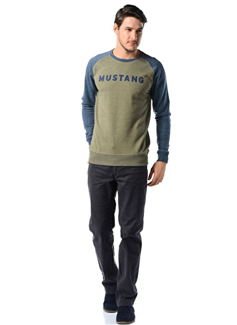 Mustang Pantolon | Normal Bel Straight Renkli
